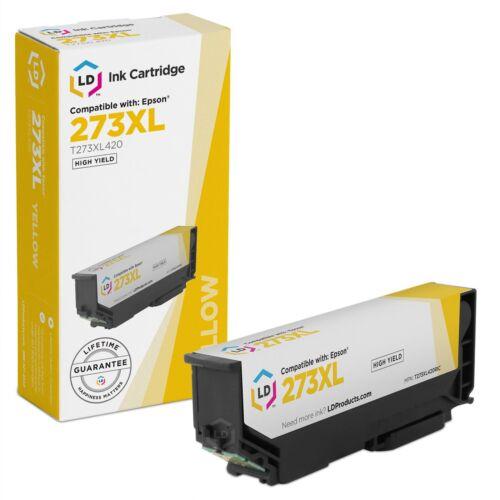 2Y 2C 2M 2PBK LD Remanufactured Epson 273XL Set of 11 HY Ink Cartridges: 3BK