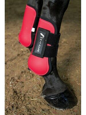 HORSE PONY COB//FULL AVAILABLE IN ALL COLOURS SOFTOPREN HKM FETLOCK BOOTS