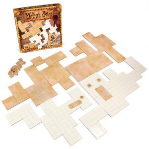 master s atlas 44 dry wet erase reversible map grid tiles for