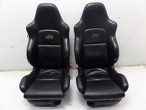 Vw Golf R32 Front Konig Leather Seat Black Mk4 Gti Jetta