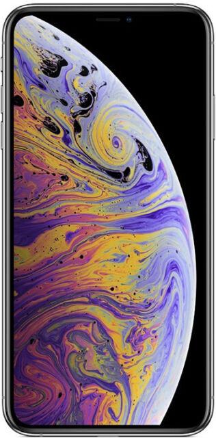 Apple iPhone XS MAX 64GB ITALIA Silver LTE NUOVO Originale Smartphone Bianco