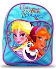 Disney Princesa Frozen Anna Elsa Olaf Mochila Escolar Mochila NUEVO