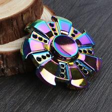 Special Gear Rainbow Fidget EDC Hand Spinner Torqbar ADHD Autism Finger Toy US