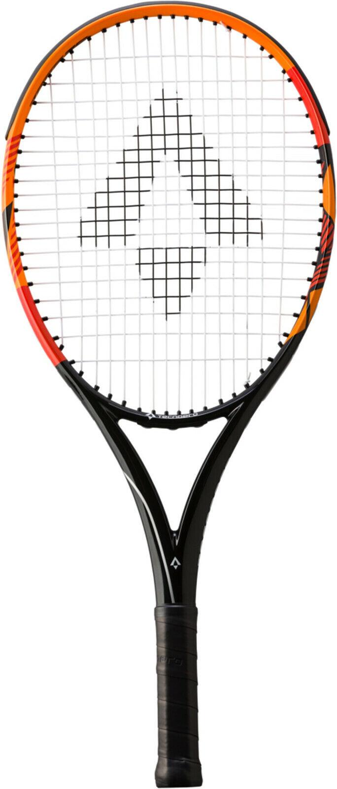 TECNOPRO Junior Enfants Raquette de tennis Bash 25 (288336-900) en noir-Orange