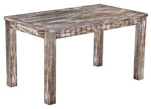 Geschenk-Esstisch-Holz-Pinie-massiv-Tisch-140x80-shabby-dunkel-Eiche-antik-Kueche