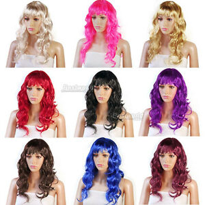 Womens-Long-Full-Curly-Fancy-Dress-Party-Wigs-Cosplay-Costume-Ladies-Wig
