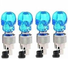 Blue Car Tyre Led Light With Motion Sensor - Set Of 4 Mahindra Scorpio