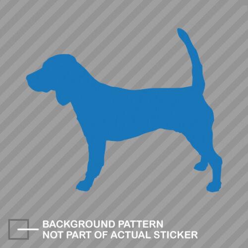Beagle Sticker Die Cut Decal dog canine pet
