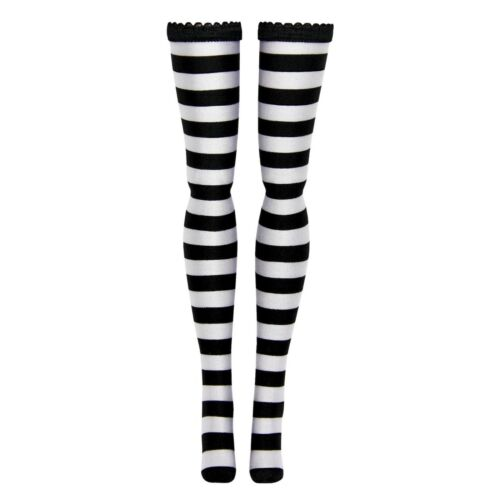Stripe Doll Stockings for Modern Barbie Silkstone Made to Move Model Muse