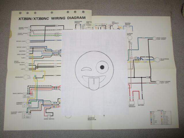 Diagram 1989 Yamaha Xt 350 Wire Diagram Full Version Hd Quality Wire Diagram Blogxgoo Mefpie Fr