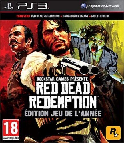 RED DEAD REDEMPTION - JEU DE L'ANNEE / SONY PS3 / NEUF SOUS BLISTER D'ORIGINE VF