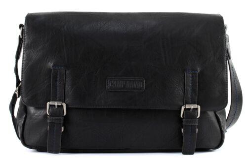CAMP DAVID Mount Bear Messengerbag Umhängetasche Tasche Black Schwarz Neu