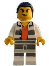 Lego Figur City Bandit Einbrecher Dieb schwarze Lederjacke  cty462  60046