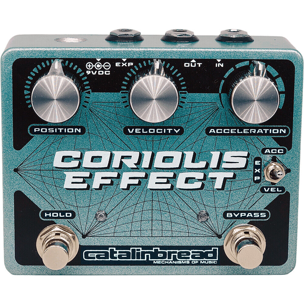 Catalinbread Pedals Coriolis Effect Sustainer Wah Filter Pitch Pedal