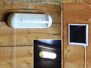 SOLAR-POWERED-GARDEN-5-LED-SHED-GARAGE-LIGHT-RECHARGEABLE-OUTDOOR-LIGHT-LIGHTING