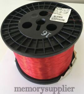 32 AWG Essex Magnet Wire Enameled Heavy Build 200 Degree Celsius 10 LB Spool