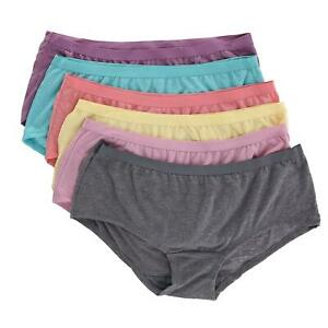 Fruit of the Loom Womens Boyshort Panties
