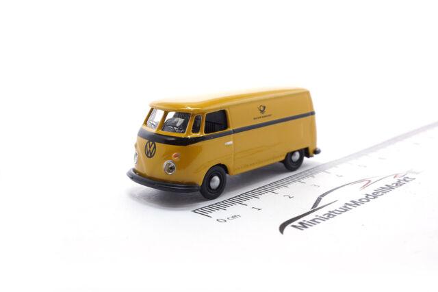 Schuco VW T1 Camper #452633800 grün-grau - 1:87 26338