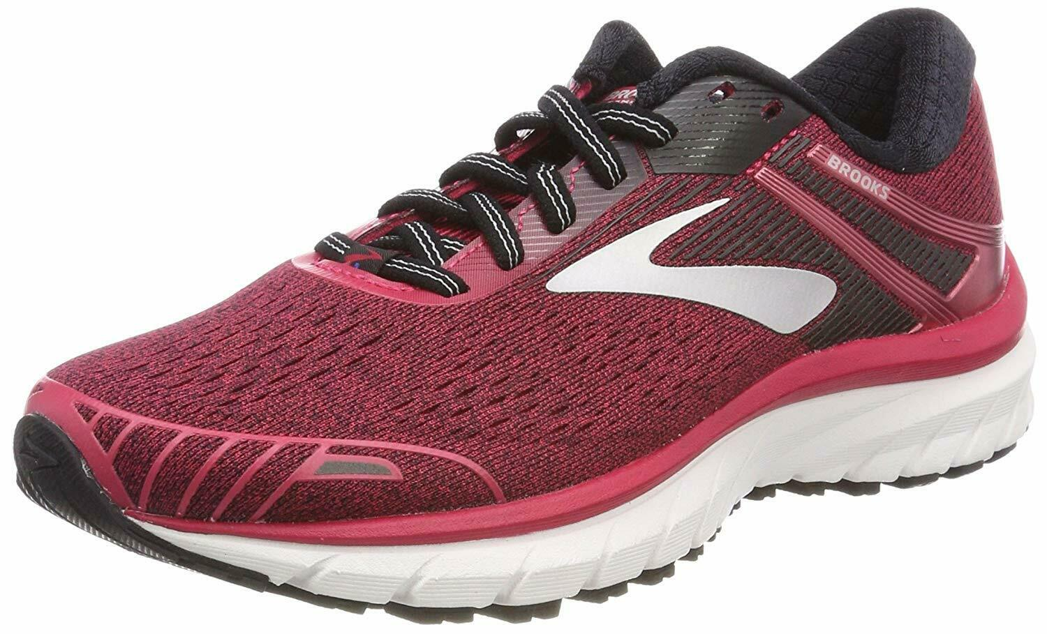 Brooks Womens Adrenaline  GTS 18 Pink Sneakers Trainers Running shoes  shop makes buying and selling