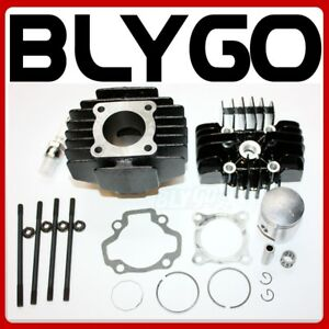 Rebuild-Head-Bore-Barrel-Cylinder-Piston-Rings-Kit-Set-YAMAHA-PW50-PY50-PEEWEE50