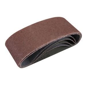 Silverline 836178 Sanding Belts 65 x 410mm 5pk 60 Grit