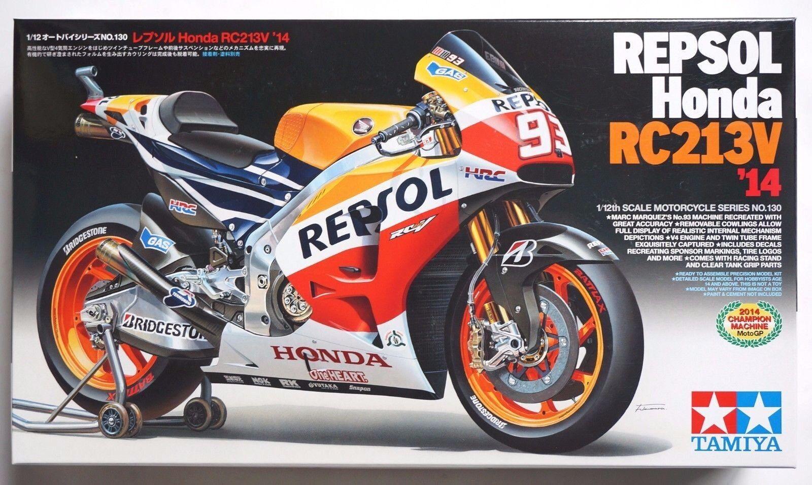 TAMIYA 1  12 Repsol Honda RC213V 2014 MotoGP Champions modellllerl kit
