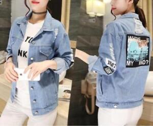 KPOP Where is my mind Jacket jeans Outerwears Women Denim Autumn Jacket