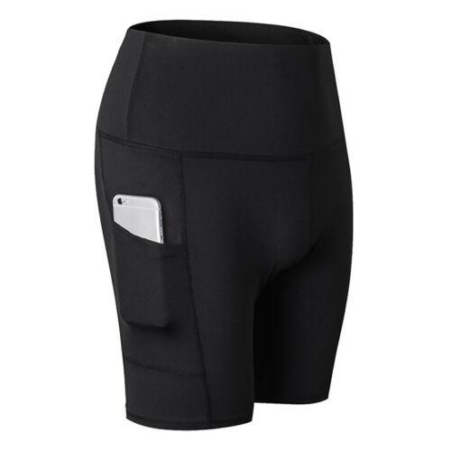 Mens Womens Gym Cycling Shorts Underwear Bicycle Pants Sports Biker Bottoms