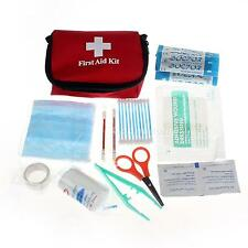 New Mini Outdoor Camping Hiking Survival Travel Emergency First Aid Kit Bag SWTG