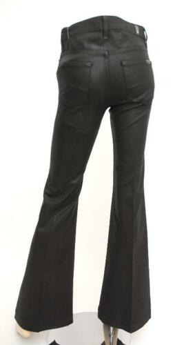 Pantalon pour gingembre noir For Mankind de All 7 brillant ~ pantalon évasé 25 jeans twt7fPqr