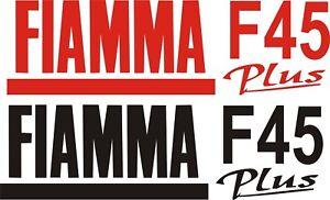 2 X FIAMMA F45 PLUS CARAVAN/MOTORHOME   STICKERS