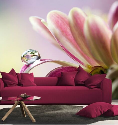 Wall Mural photo Wallpaper FLOWER modern wall covering for bedroom Floral design