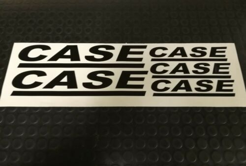 CASE STYLE STICKER DECALS SET TRACTOR LOADER HARVESTER