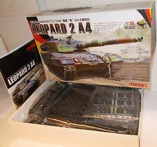 Meng TS-016 - German Leopard 2 A4 Main Battle Tank - Boxed (1:35) Plastic Kit.