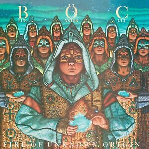 Reproduction-Blue-Oyster-Cult-034-Fire-Of-Unknown-034-Album-Poster-Size-16-034-x-16-034