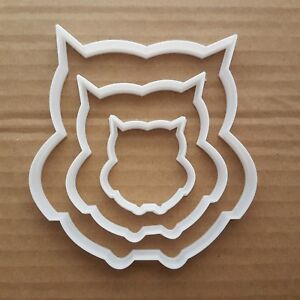 Owl-Cookie-Cutter-Dough-Pastry-Biscuit-Fondant-Bird-Animal-Wise-Shape-Stencil