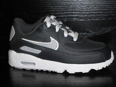 Nike Air Max 90 Trainers Size 4.5 Infants BNIB Grey