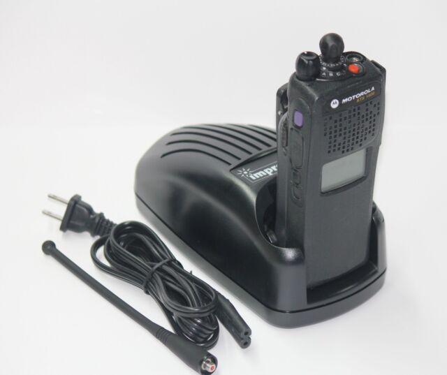 TESTED MOTOROLA XTS1500 XTS 1500 450-520 MHZ UHF Model 3 P25 DIGITAL RADIO ADP