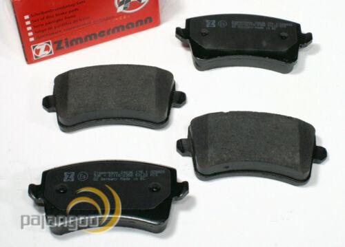 B8 Zimmermann Bremsbeläge Bremsklötze für vorne hinten Audi A4