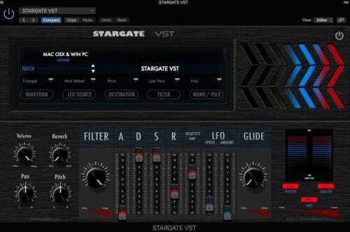 STARGATE VST Plug-in VST3✔ Full version ✔ Fast eDelivey ✔ Windows 64 bit /& Mac