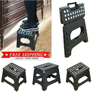 Foldable Chair Camping Plastic Folding Step Camp Stool