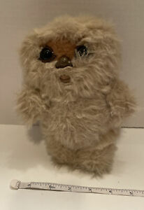 Vintage STAR WARS VI Jedi Nippet the Ewok 7 Inch 1983 Kenner Plush Beige Tan
