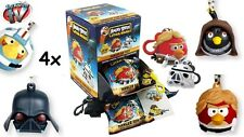 4PACK Officially Licensed STAR WARS ANGRY BIRDS 4x Hanger Angy Birds 8x Stickers