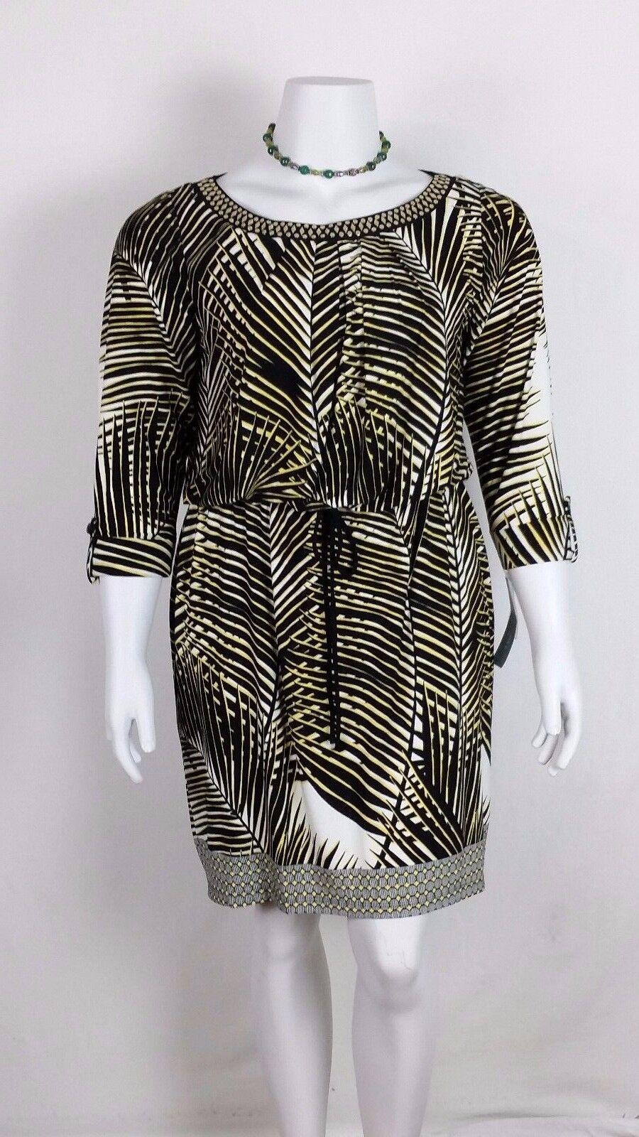 Women' s LONDON TIMES Dress 14W OCCASION  NWT