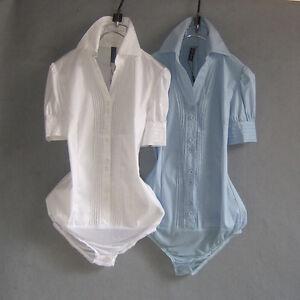Summer-Women-039-s-Blouse-Fashion-Bodysuit-slim-office-body-shirts-formal-Work-Wear