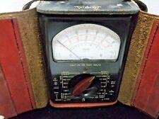 Vintage Triplett Electric Ohms Volt Meter Model 630 Orignal Case Rare Nice