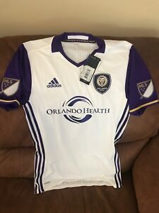 4e71f44ba Adidas Adizero Authentic Orlando City Fc Mls Soccer Jersey Size S ...