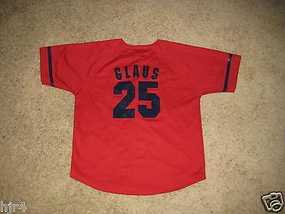 Weitere Ballsportarten Professioneller Verkauf Troy Glaus #25 Anaheim Angels Of Los Angeles Trikot Jugendliche M 10-12 Unterscheidungskraft FüR Seine Traditionellen Eigenschaften