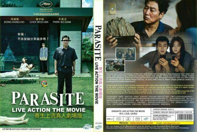 Parasite Dvd 2019 For Sale Online Ebay