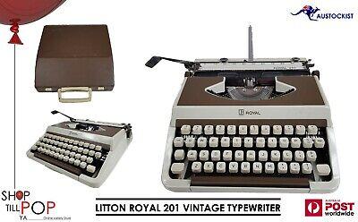 Litton Imperial Mercury Portable Typewriter BLACK Typewriter Ribbon
